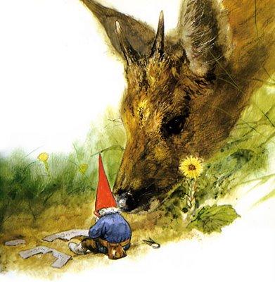 Nisse hjælper hjort