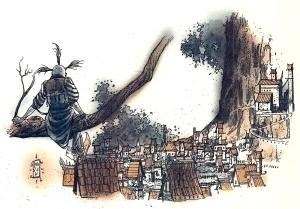 Udsigt til Crux på Yggdrasil