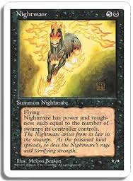 Nightmare MtG