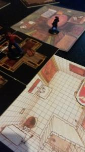 Rædslernes hus er hjemsted for mange grusomme gerninger - og det skal udforskes forsigtigt. Minis & tiles fra Betrayal at the House on the Hill. Floorplans fra Halls of Horror.