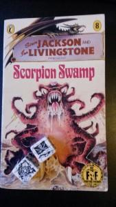 Scorpion Swamp - samt mine piratterninger sidst anvendt, da jeg spillede Lady Blackbird.