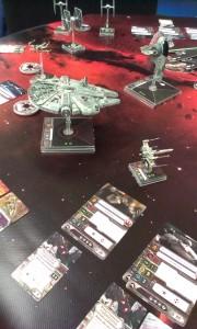 Fantasy Flights ubemandede stand var fyldt med ting, der var annonceret ville blive udgivet senere på året.