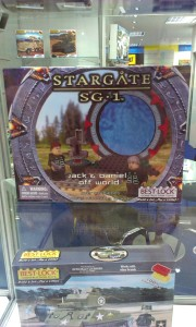 Mere kopi-Lego. Denne gang er det StarGate tv-serien, som har en masse figurpakker.