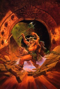 Jeff Easley - 55 - Guerriers