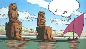 Carl Barks historier er let en rig kilde til inspiration til røverhistorier.
