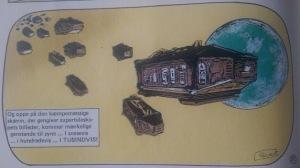 En flåde af sarkofager. Det får mig til at tænke på introen til en af episoder af tv-serien Lexx, der har en enkelt kapsel flyvende gennem rummet.