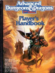Player's Handbook fra 1989