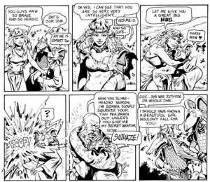 Snarfquest - tegneserie af Larry Elmore (jeps, gutten, der lavede forsidebilledet til den famøse 'røde æske')