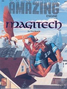 TSR's Amazing Engine system var et forsøg på et universelt system med mange genrer: Bughunters, Metamorphosis Alpha to Omega, The Galactos Barrier, For Faerie, Queen & Country m.fl MagiTech forsøgte at kombinere hverdag med trolddom.