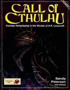 Call of Cthulhu 4th edition fra 1989. Det er her, jeg begyndte.