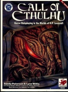 Call of Cthulhu 5th editon fra 1992.