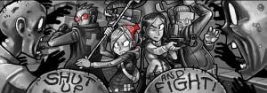 Fra webcomic'en Dead Winter ikke at forveksle med Dead of Winter, selvom begge handler om zombier.