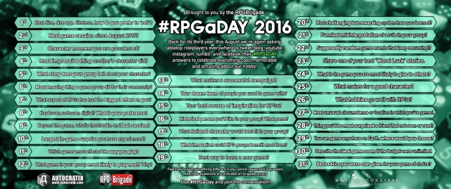 RPG-a-Day-2016