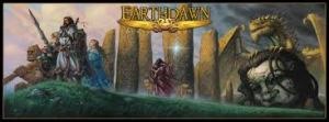Omslaget til 4th ed Earthdawn-bøgerne.