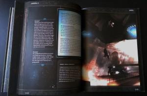 Et tilfældigt opslag i bogen. Stemningsfyldte billeder og farvetryk hele vejen igennem.