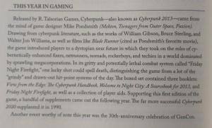 Fra afsnittet, der handler om rollespil og brætspil fra filmens udgivelsesår (p.266) - denne gang er det Willow (1988).