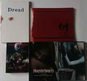 Dread, Annalise, Deadof Night, Monsterhearts, Murderous Ghosts