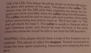Den er god nok. Caller var en del af spillet - men i hvilket reglen blev brugt er svært at sige.