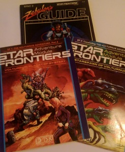 Volturnus, Planet of Mystery og Starspawn of Volturnus samt Zebulon's Guide.