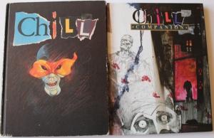 Chill regelbogen og Chill Companion. Det er Mayfair udgaven fra 1990.