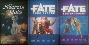 FATE Core FATE System Toolkit Secrets of Cats